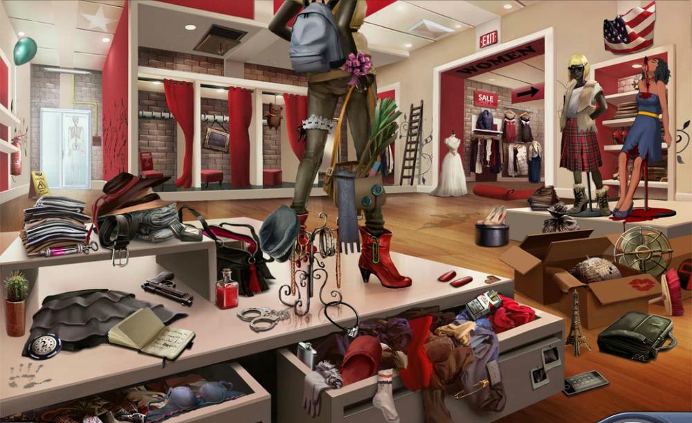 Scene clothes stores