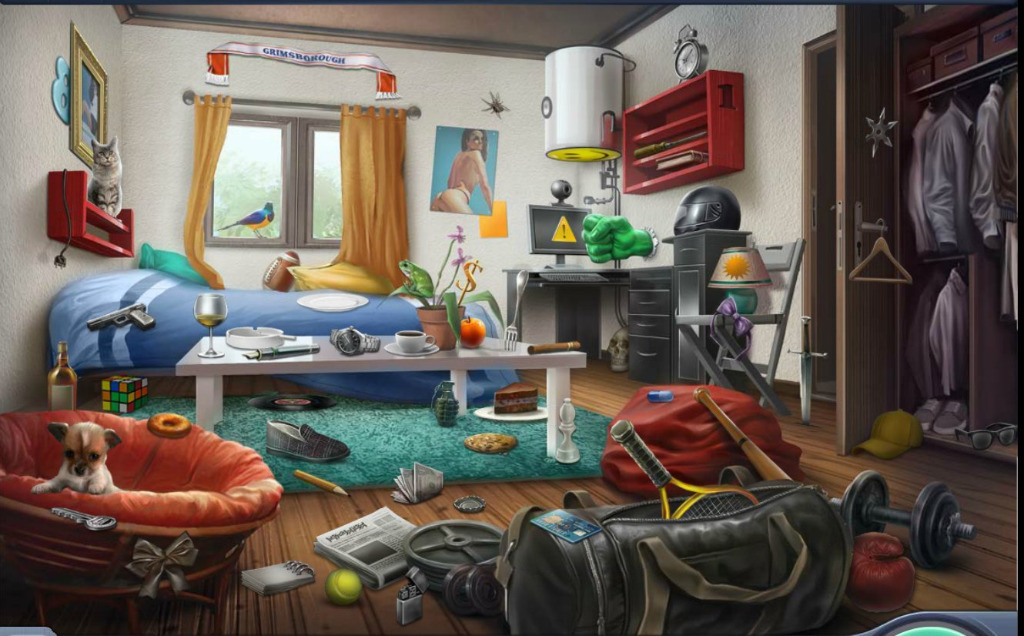 Criminal Case Scenes 36 The Devils Playground Student Bed