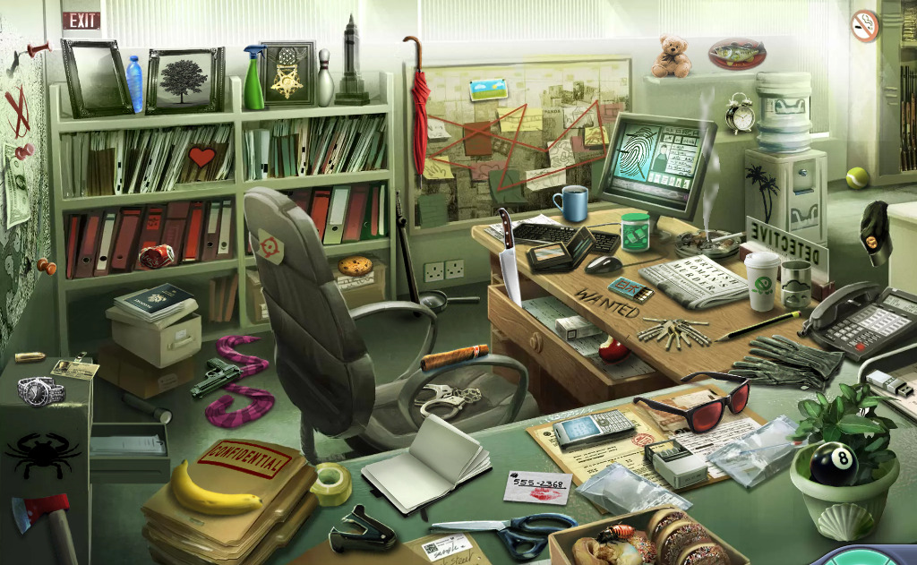 Don't turn your office into a hidden object game: Efficient filing keeps your desktop free from clutter.