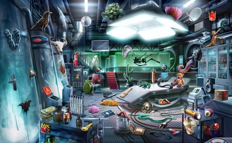 Criminal Case Case 21 The Secret Experiments Experiment Room