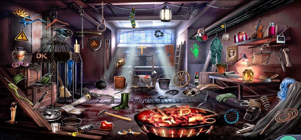 1440444112037 Criminal Case  20 A Deadly Game Creepy Basement Hidden