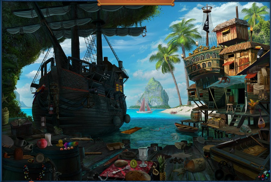 Hidden Chronicles - Grounds: Pirate Grove - Pirate Cove Tips and ...