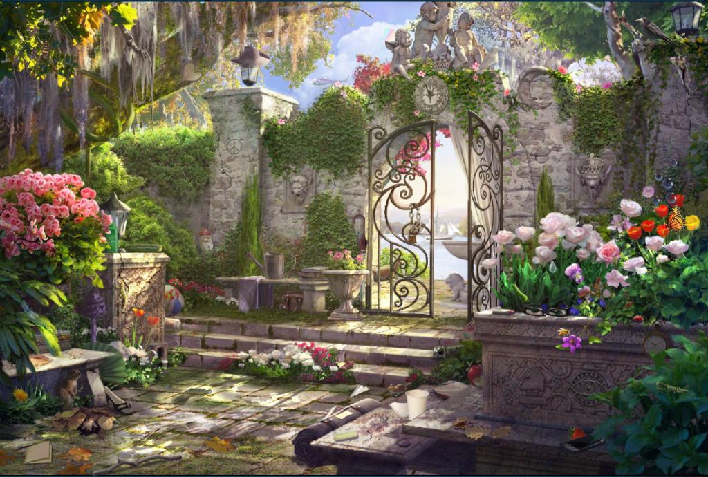hidden shadows scenes season 1 case 1 the jilted judge secret garden - Hidden Garden
